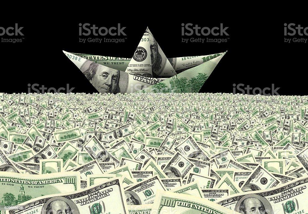 making money business stock photo