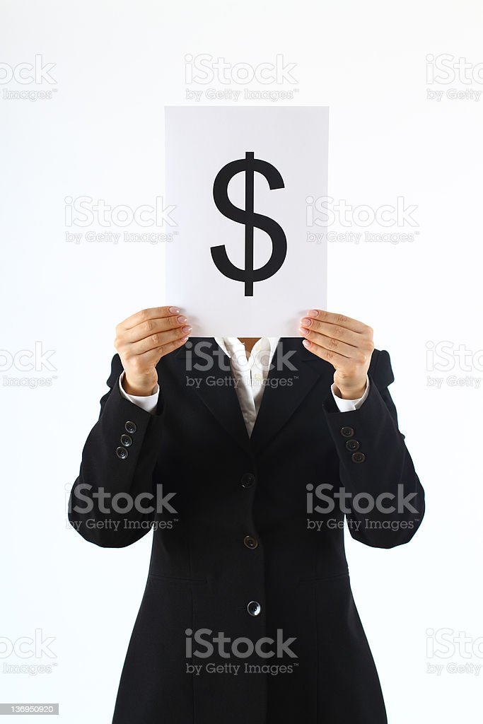 Making money stock photo