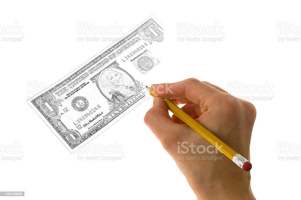 Making Money royalty-free stock photo