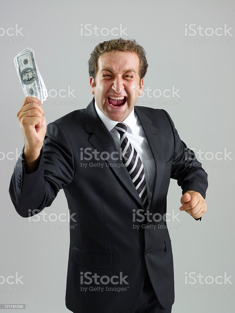 Making Money royalty-free stock photo