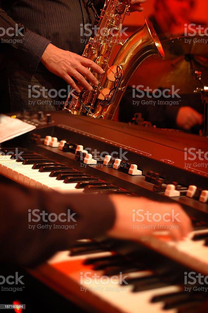Making music stock photo