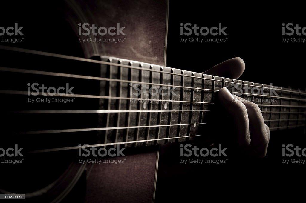 making music royalty-free stock photo