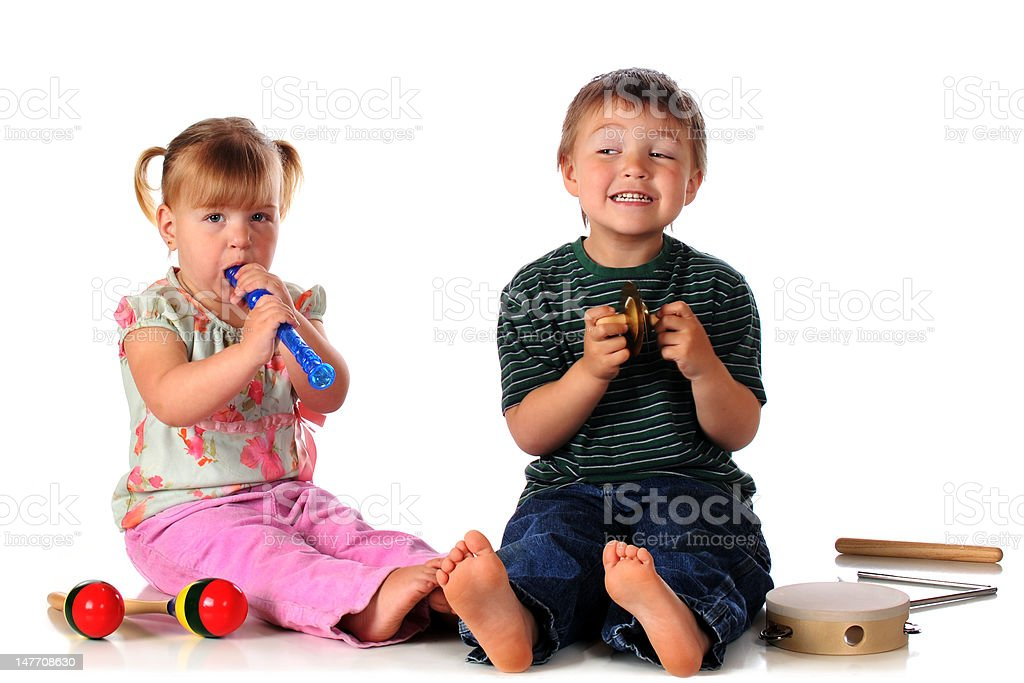 Making Music Together royalty-free stock photo