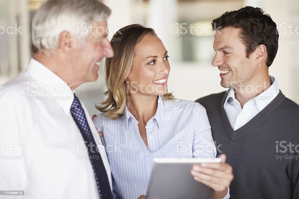Making our decisions together royalty-free stock photo