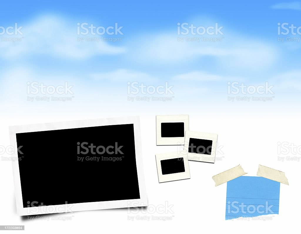making pictures layout royalty-free stock photo