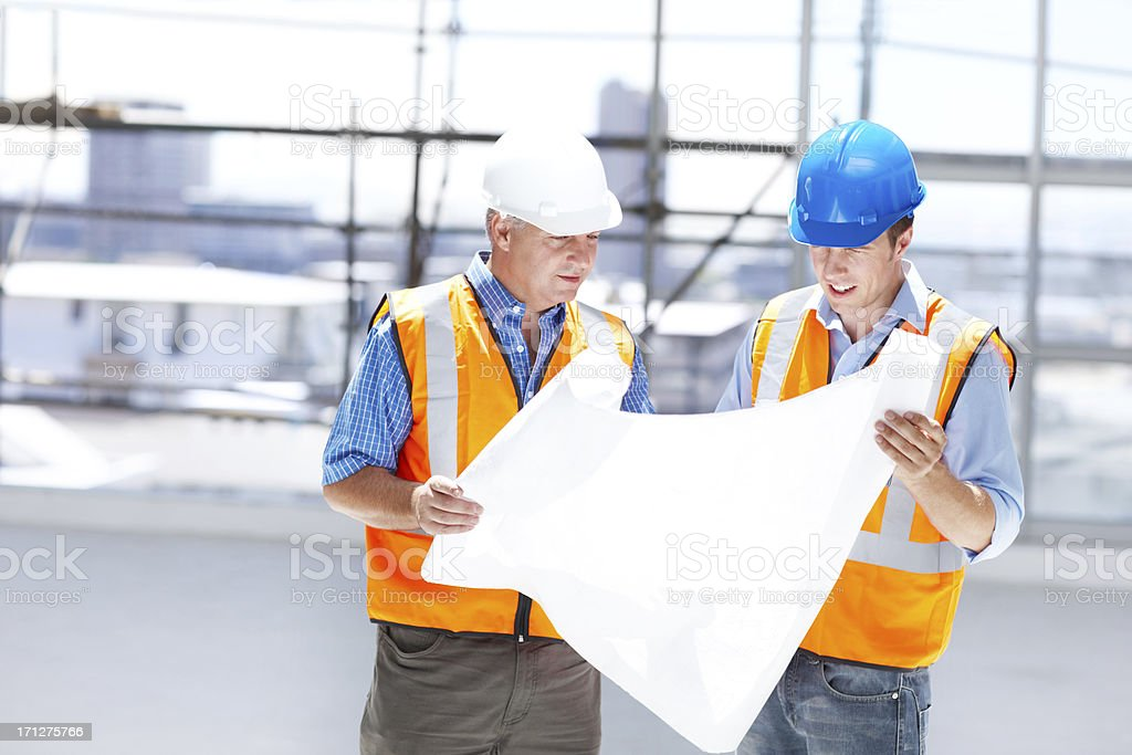 Making plans to develope the future royalty-free stock photo