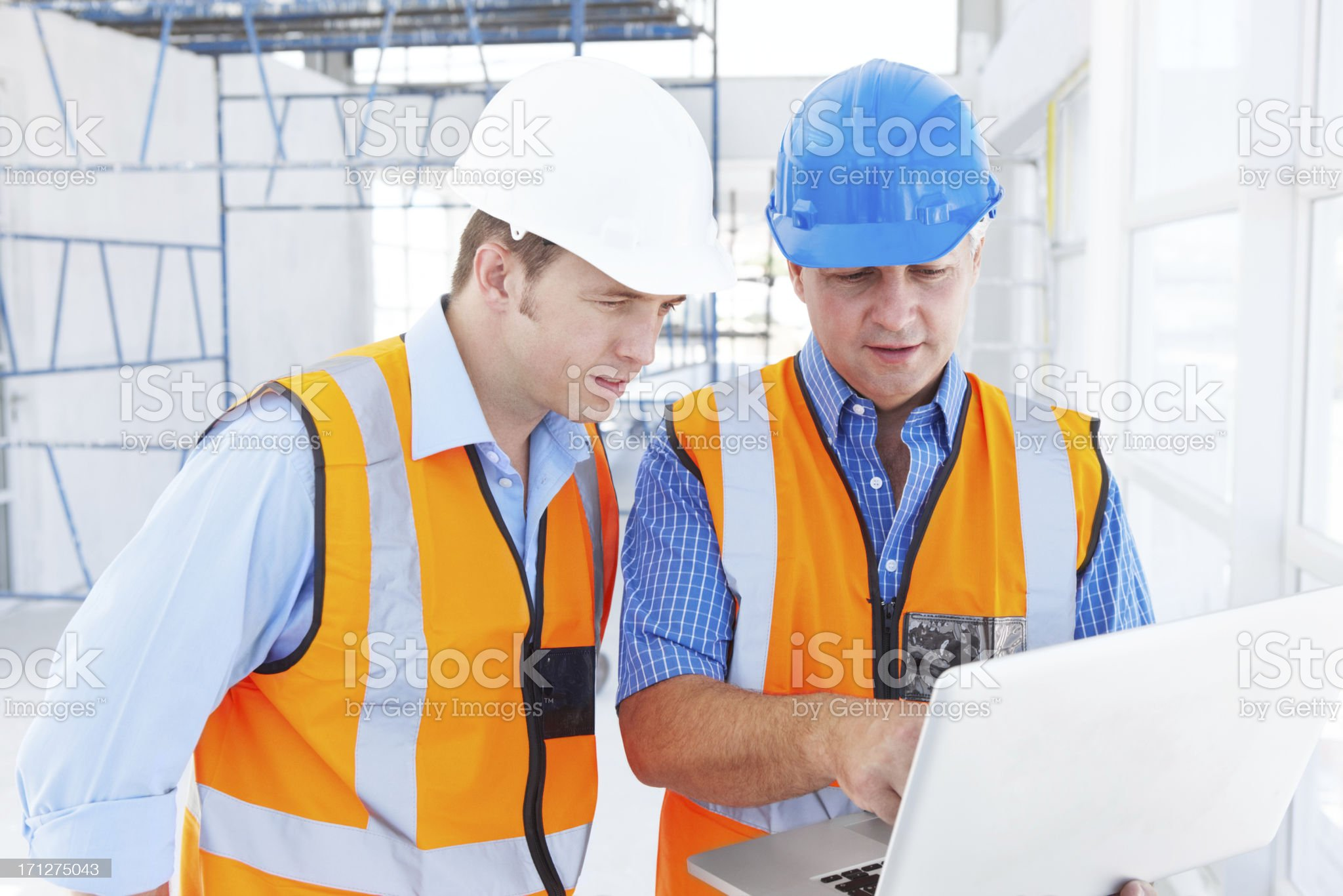 Making sure things are done with precision royalty-free stock photo