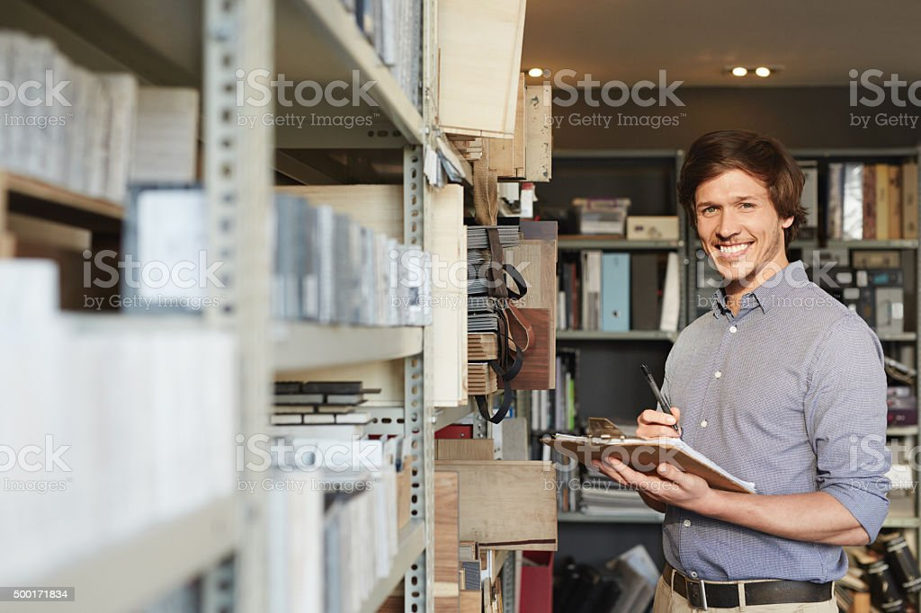 Making sure we've got stock stock photo