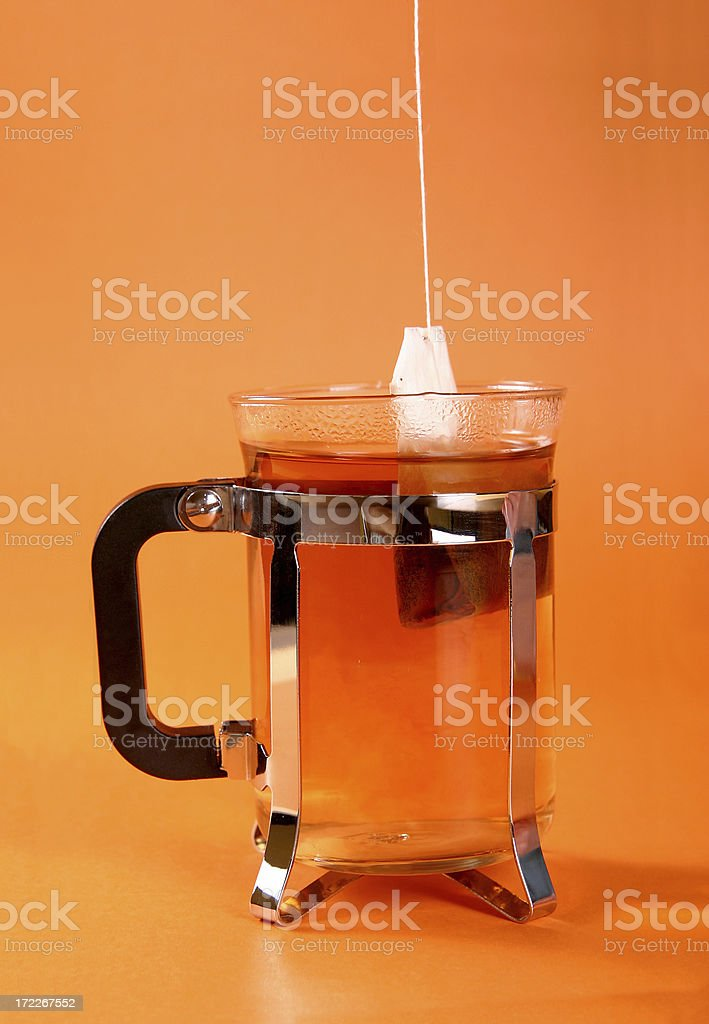 Making tea royalty-free stock photo