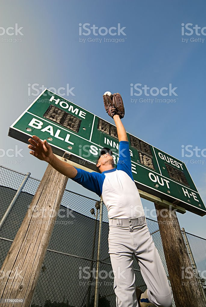 Making The Catch stock photo