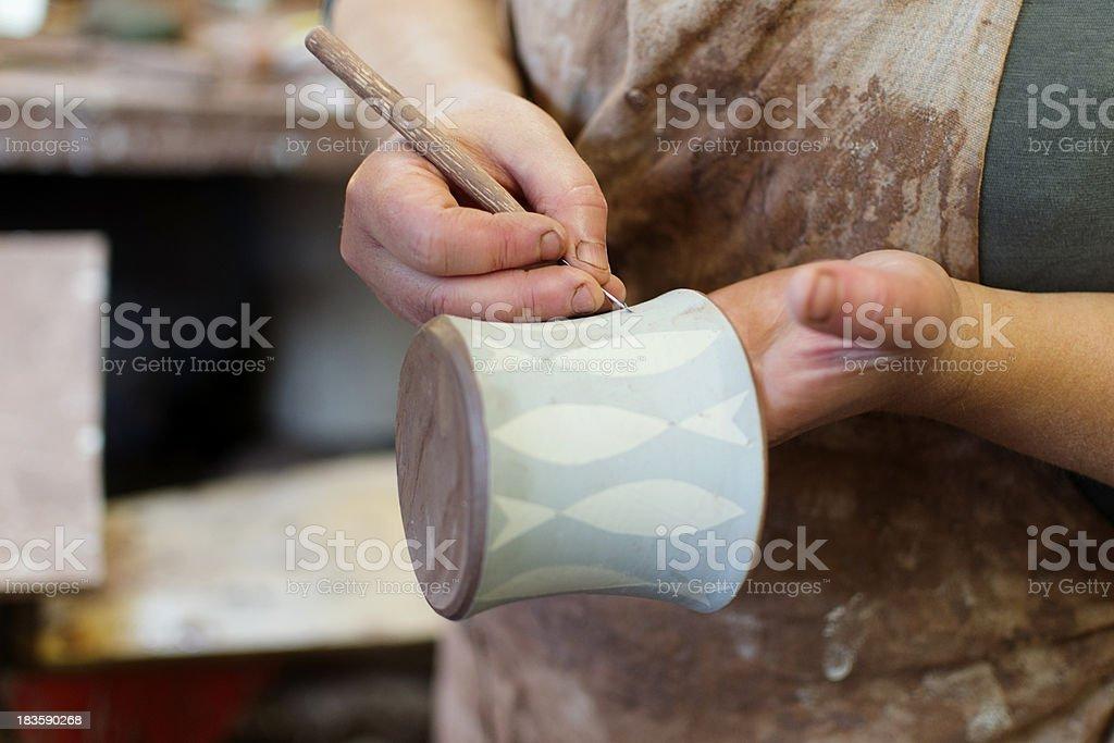 Making the design stock photo