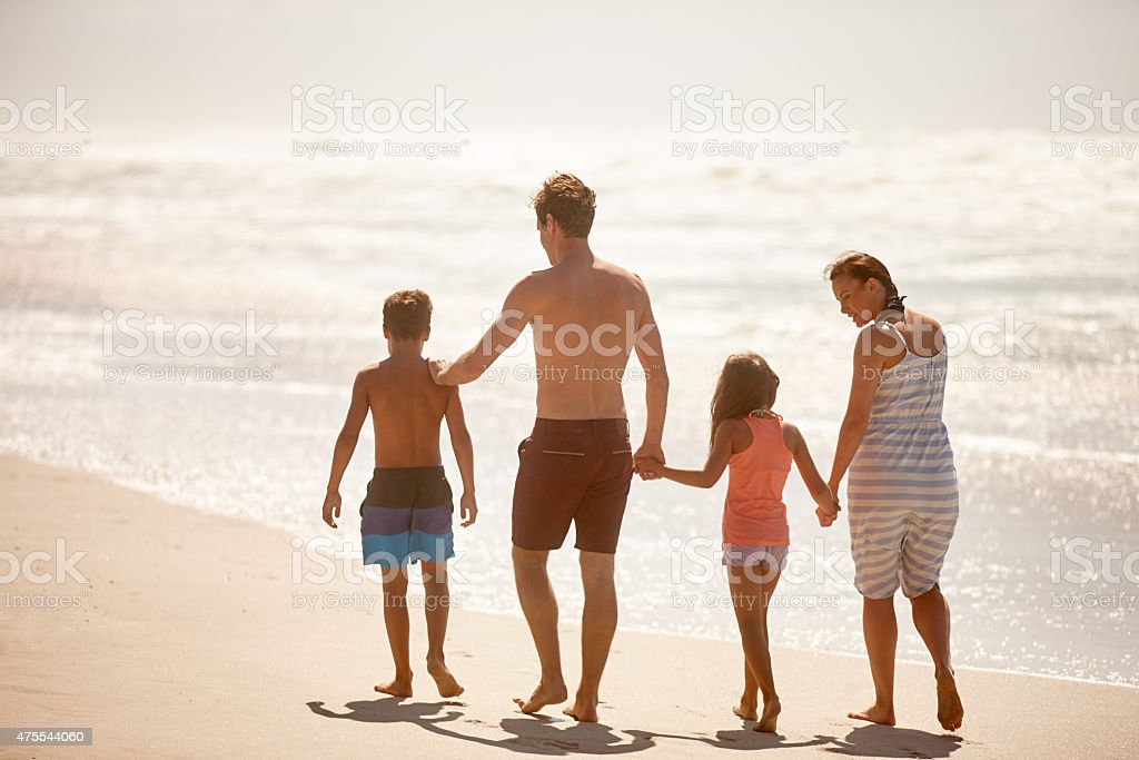 Making the most of a beautiful day stock photo