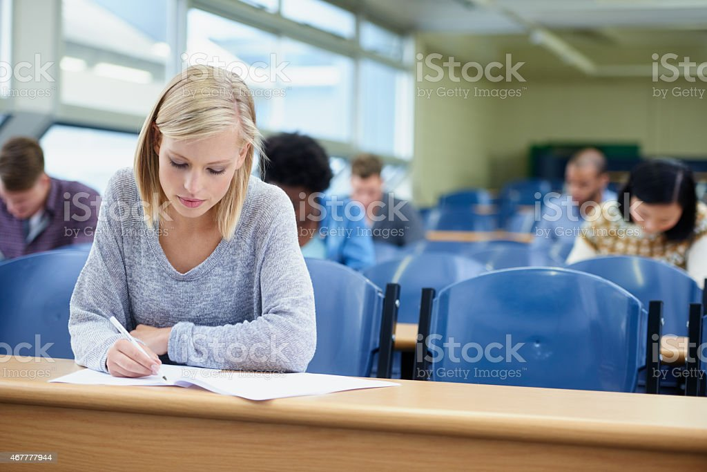 Making the most of university stock photo