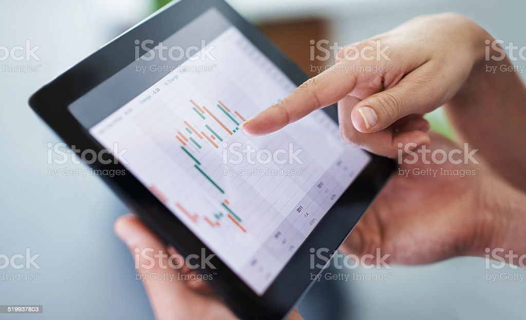 Making their money work stock photo