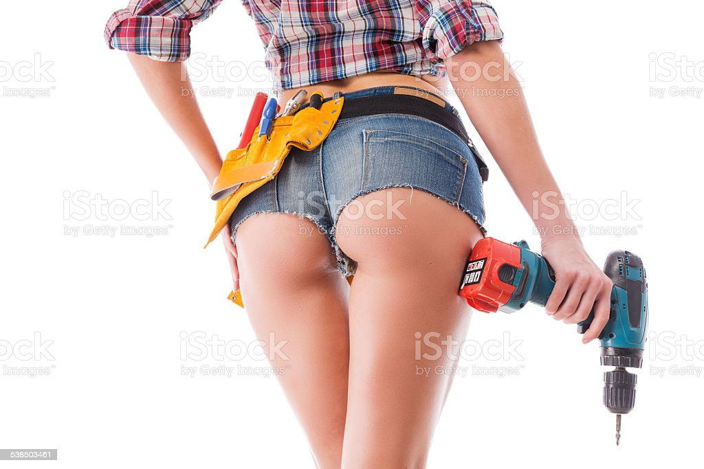 Making things perfect. stock photo