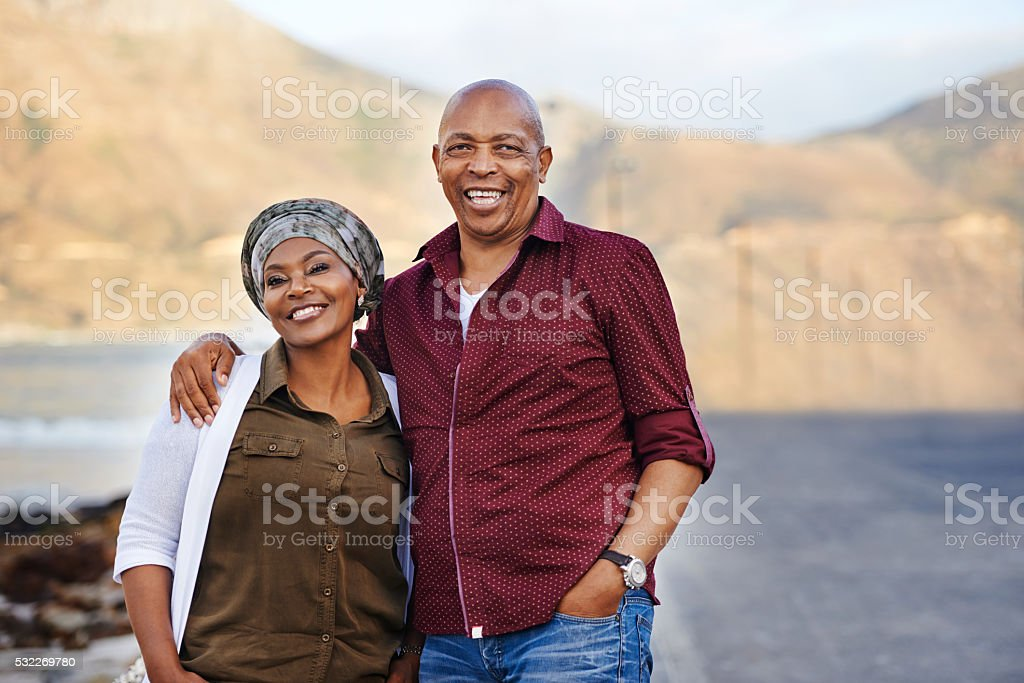 Making time for each other stock photo