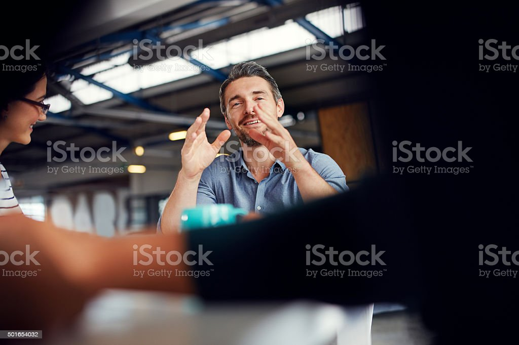 Making tomorrow's success today stock photo