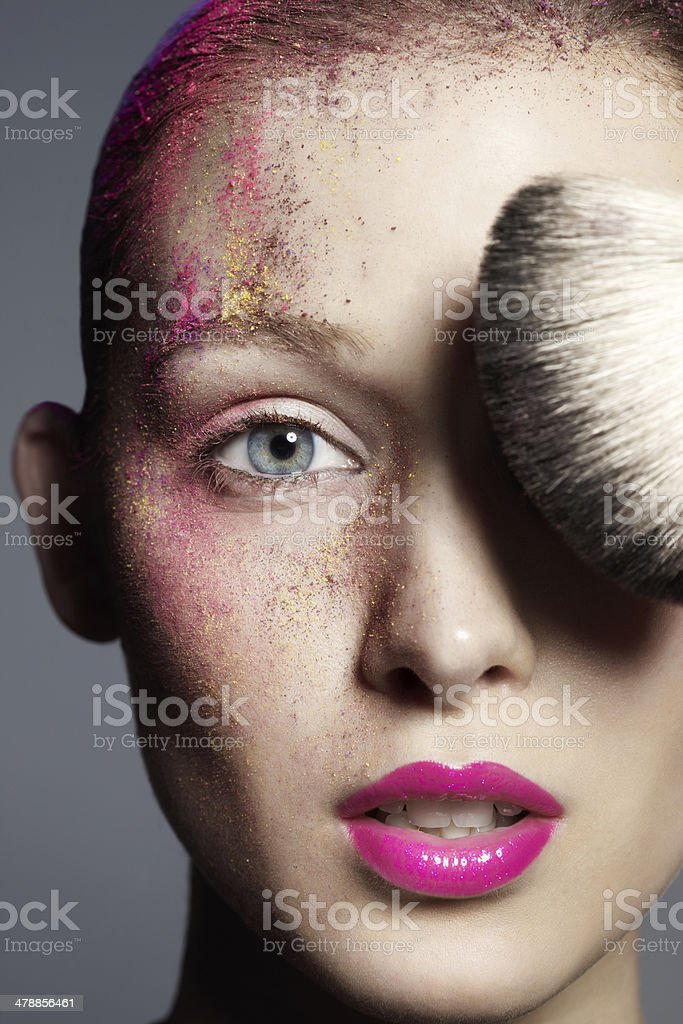 Making Up royalty-free stock photo