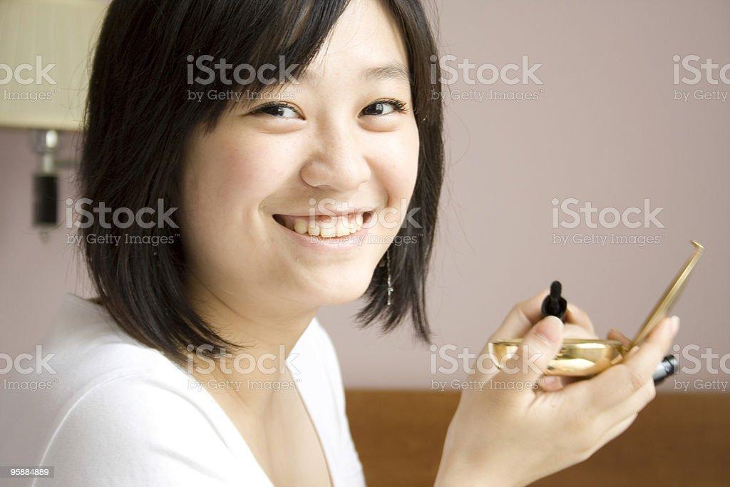 making up stock photo