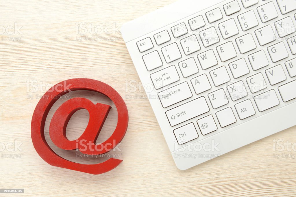 Making use of internet concepts stock photo
