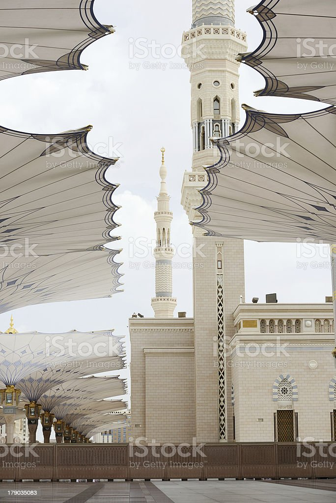 Makkah Kaaba Hajj Muslims royalty-free stock photo