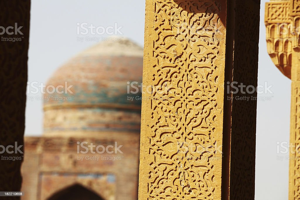 Makkli Tombs stock photo