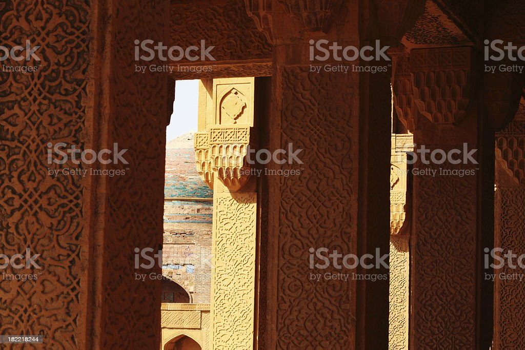 Makkli Tombs, Thatta stock photo