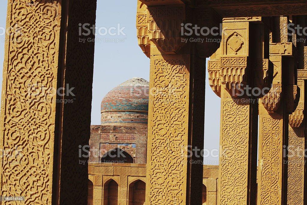 Makkli Tombs, Thatta Sindh stock photo
