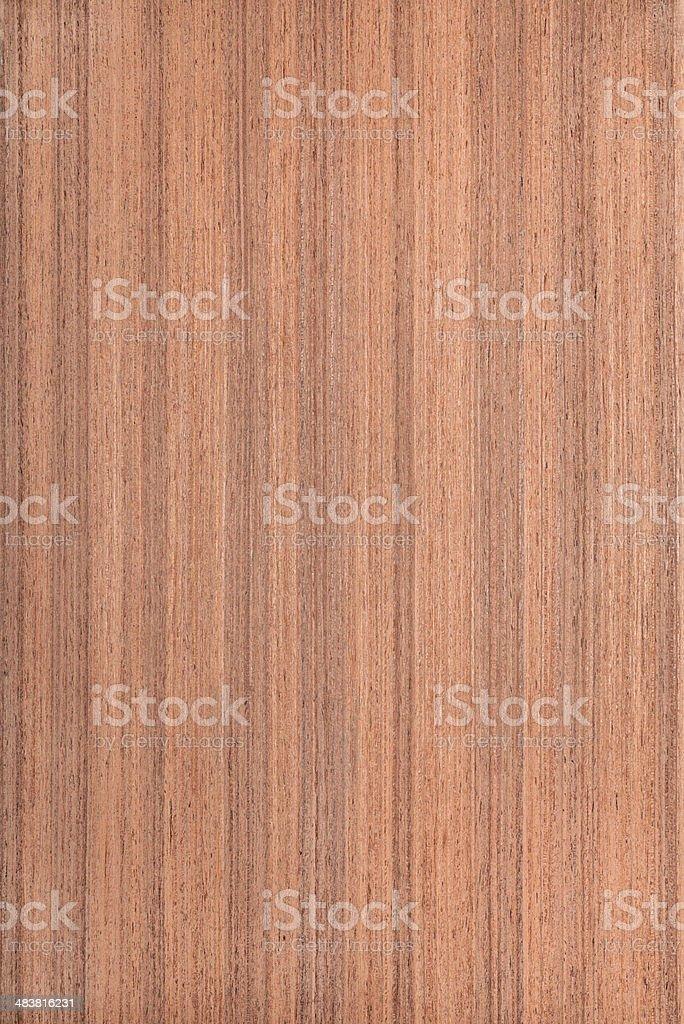 makore wood grain , tree background stock photo