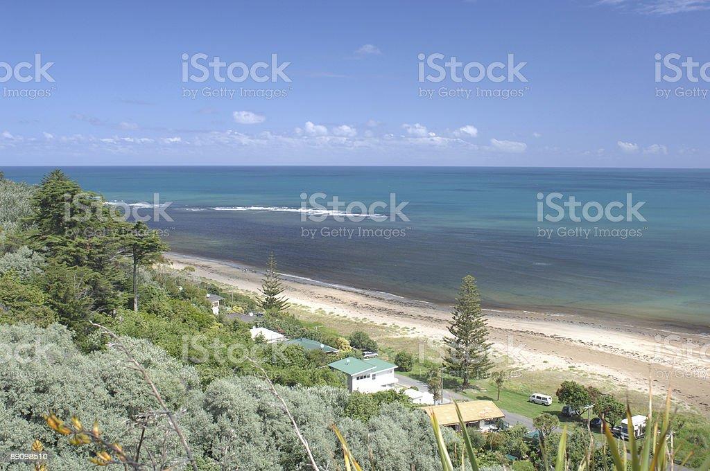 Makorori Beach, Gisborne, New Zealand stock photo