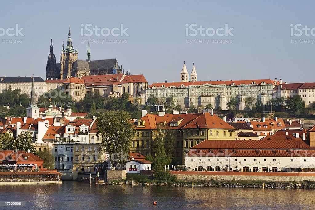 Mala Strana district of Prague royalty-free stock photo