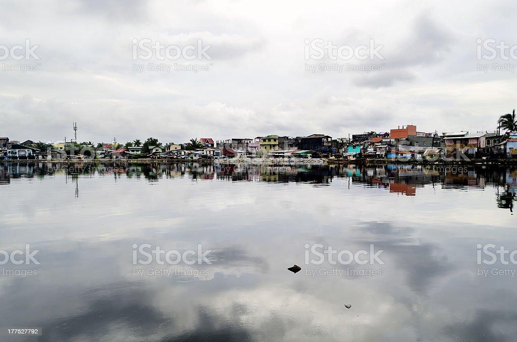 Malabon River royalty-free stock photo