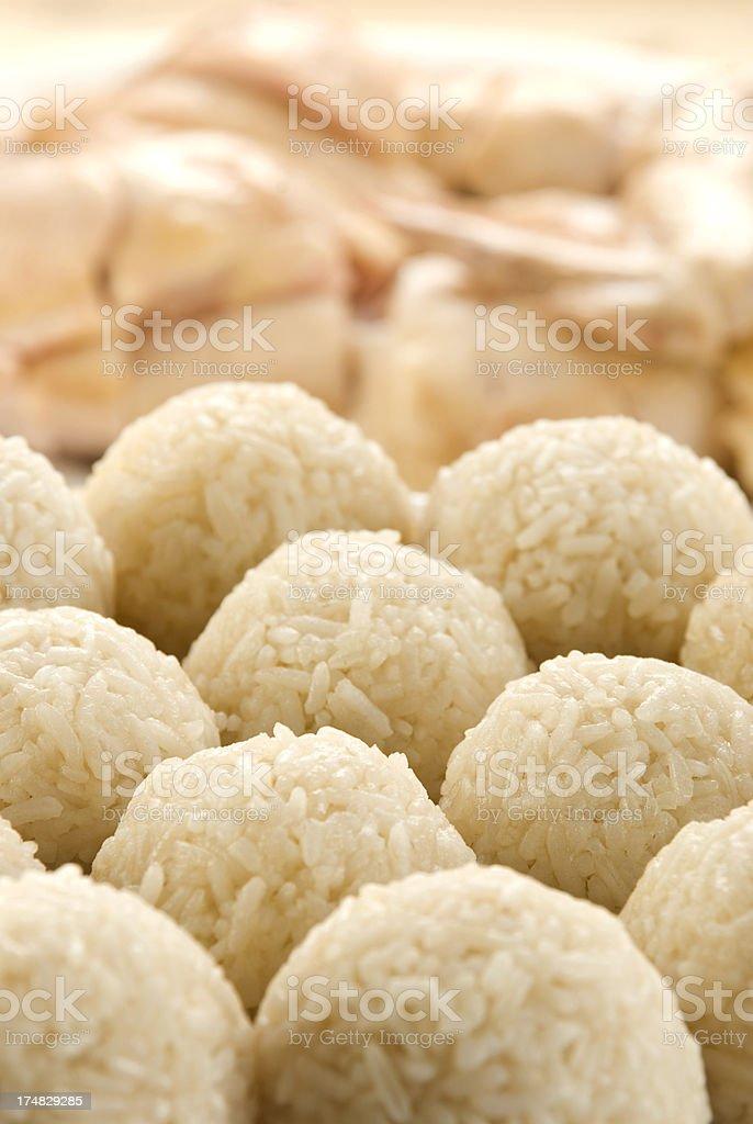 Malacca famous Chicken Rice Ball stock photo