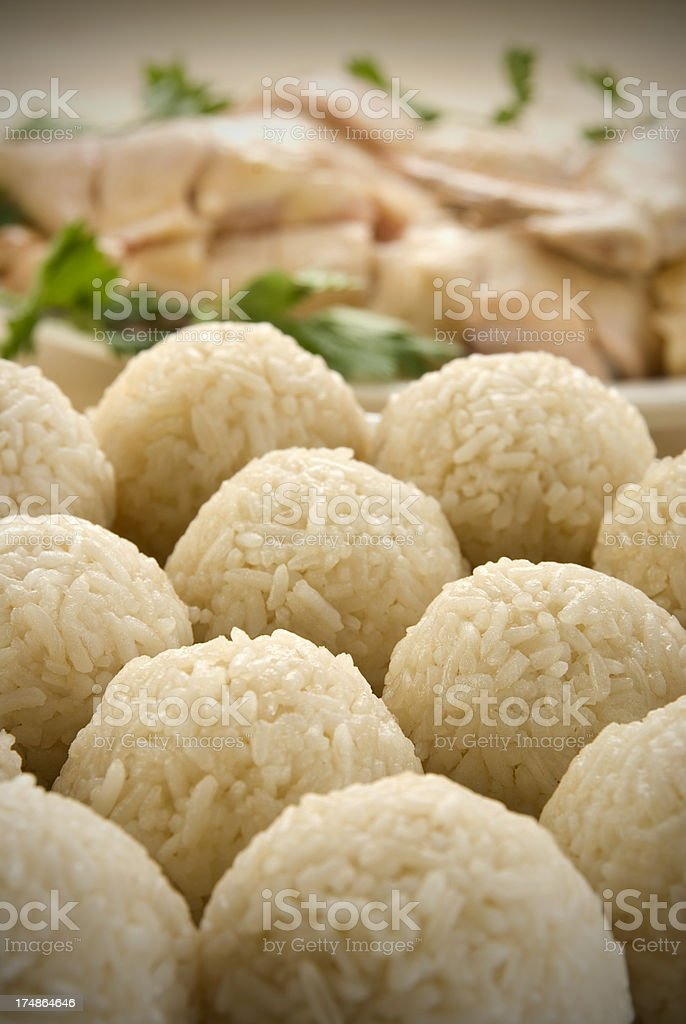 Malacca famous Chicken Rice Ball royalty-free stock photo