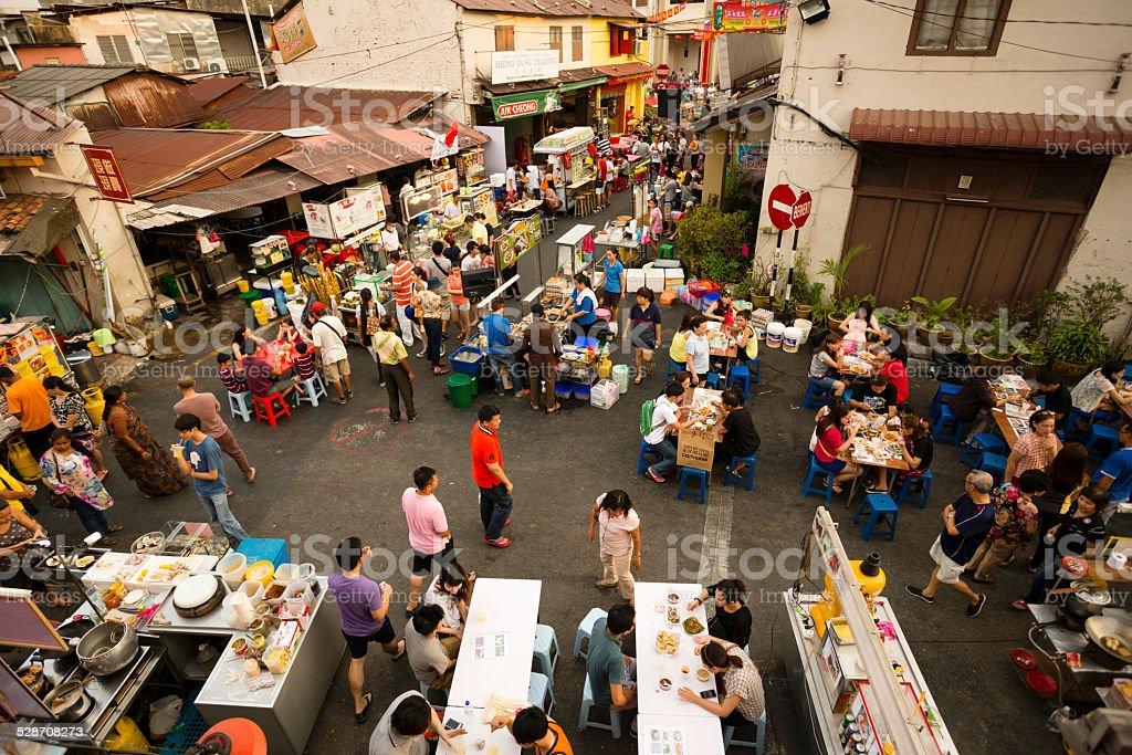 Malacca Melaka Night Market stock photo