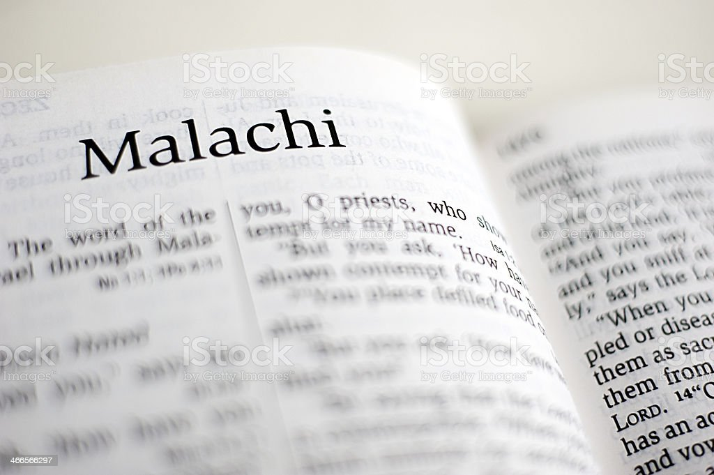 Malachi stock photo