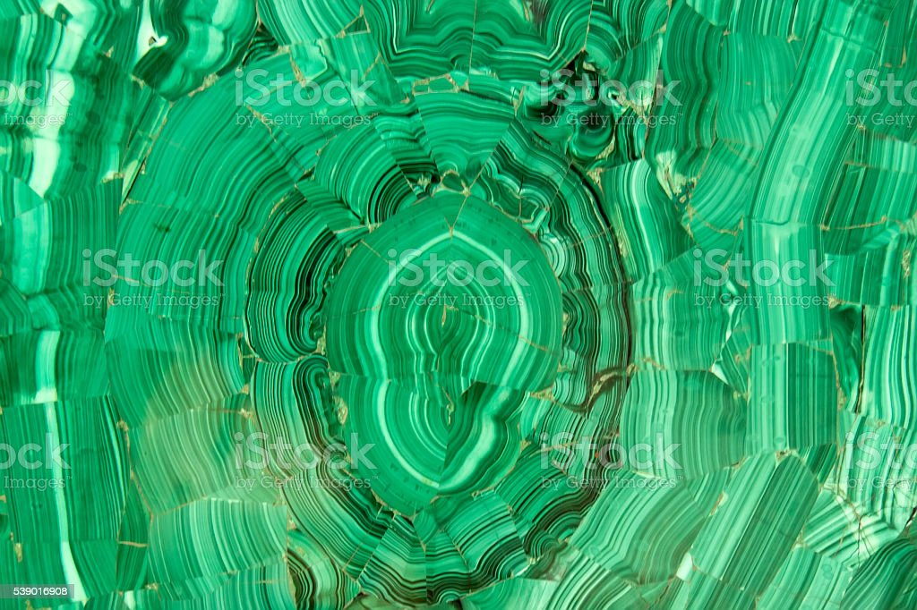 Malachite mineral stock photo