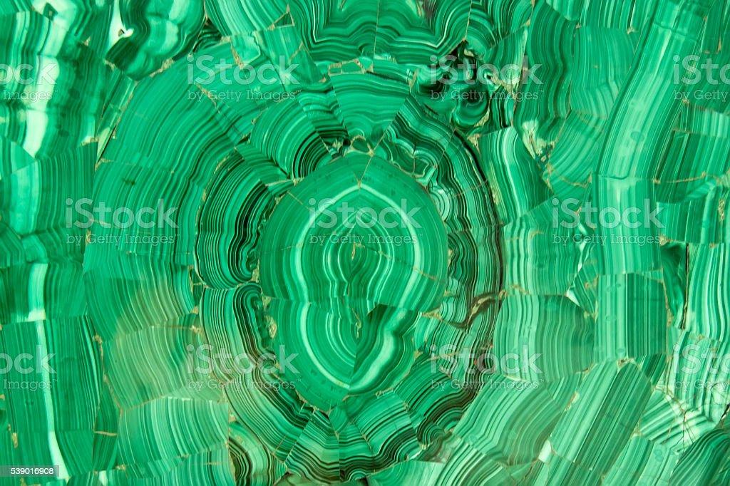 Malachite mineral stock photo