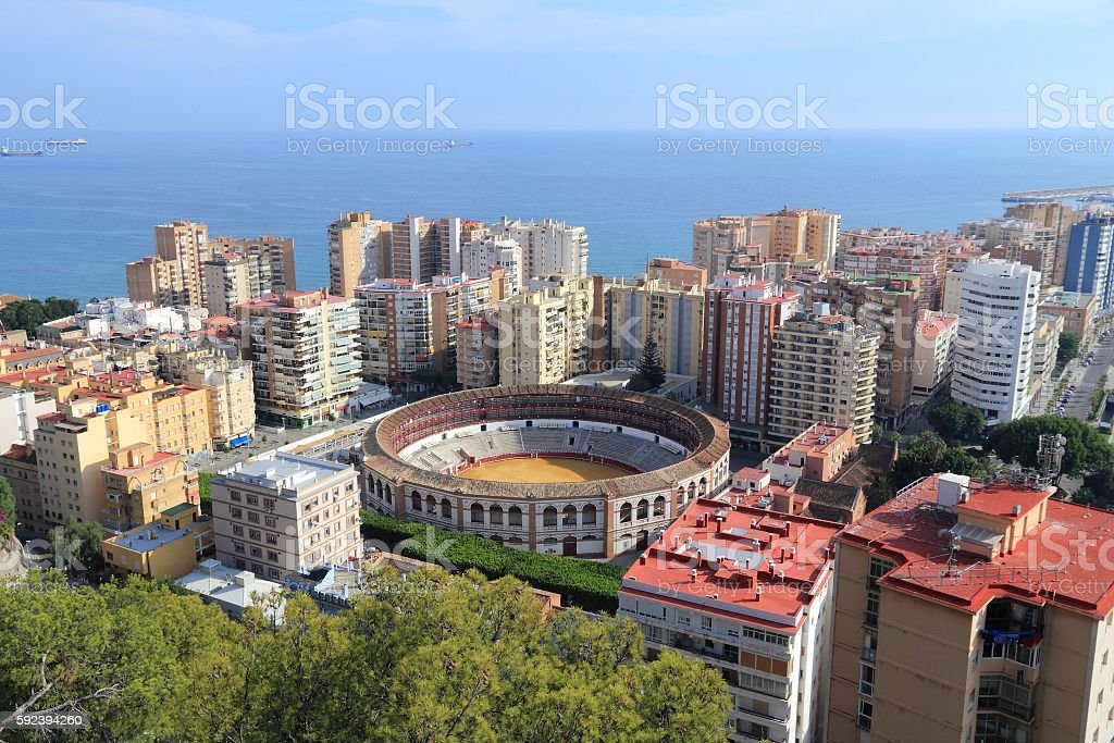 Malaga stock photo