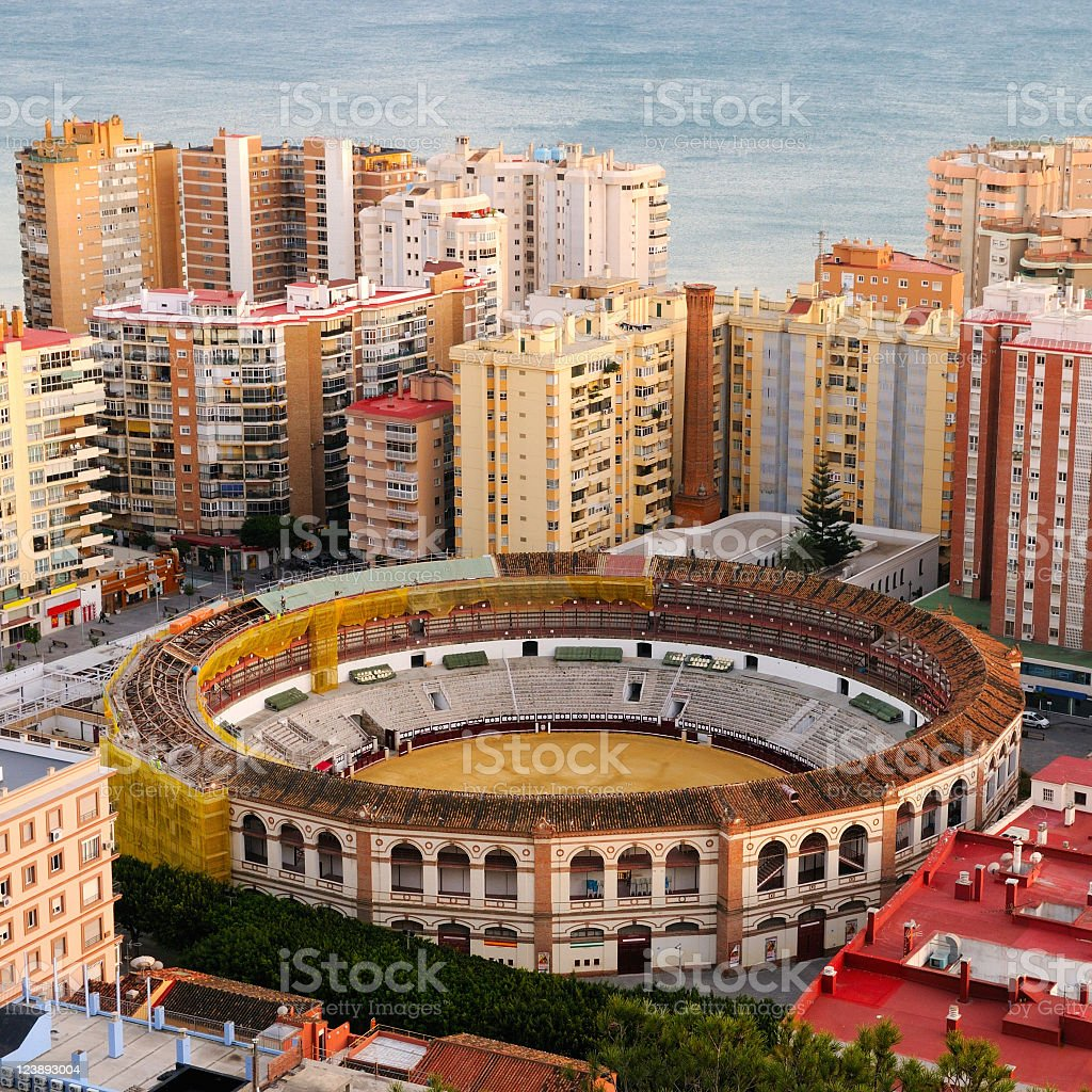 Malaga Spain royalty-free stock photo