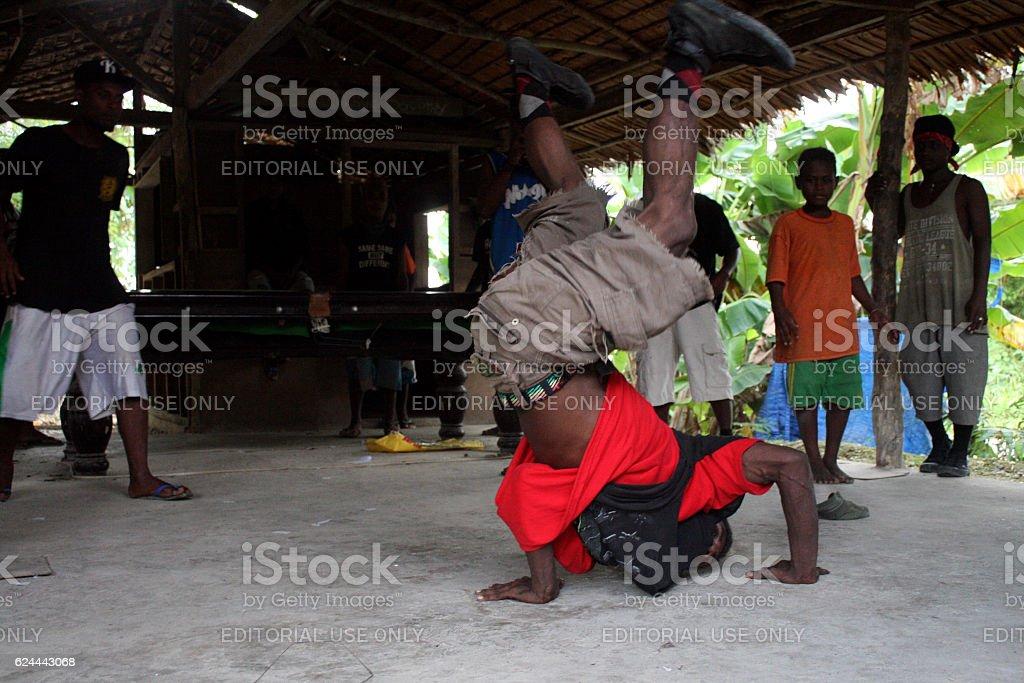 Malaitan Dancers stock photo