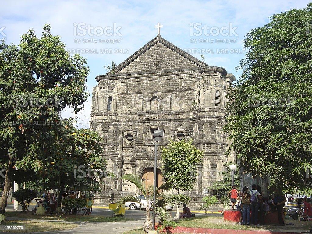 Malate church, Manila Philippines royalty-free stock photo