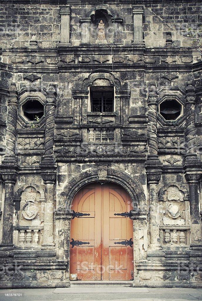Malate church royalty-free stock photo