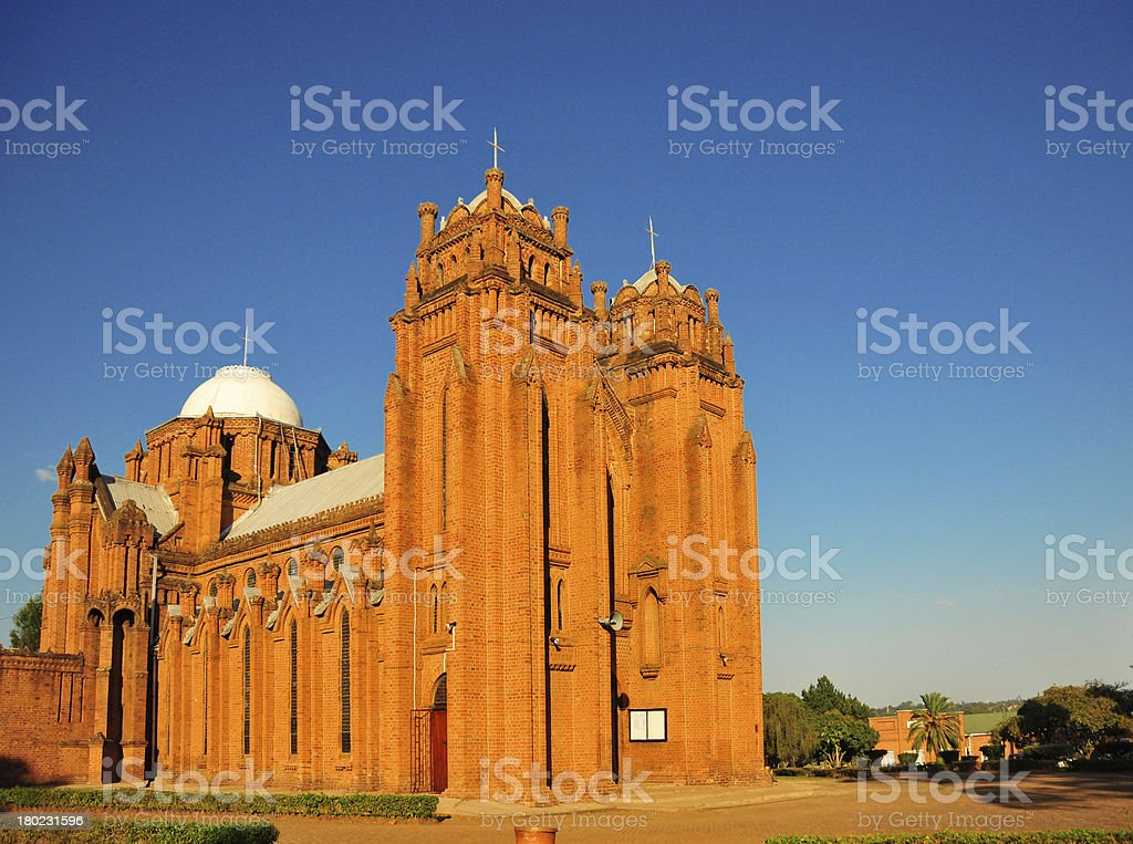 Malawi, Blantyre, St Michael and All Angels Church stock photo