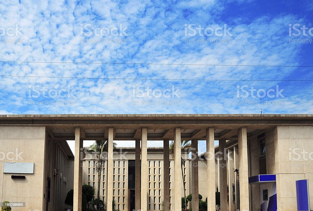 Malawi, Blantyre, Stock Exchange building stock photo