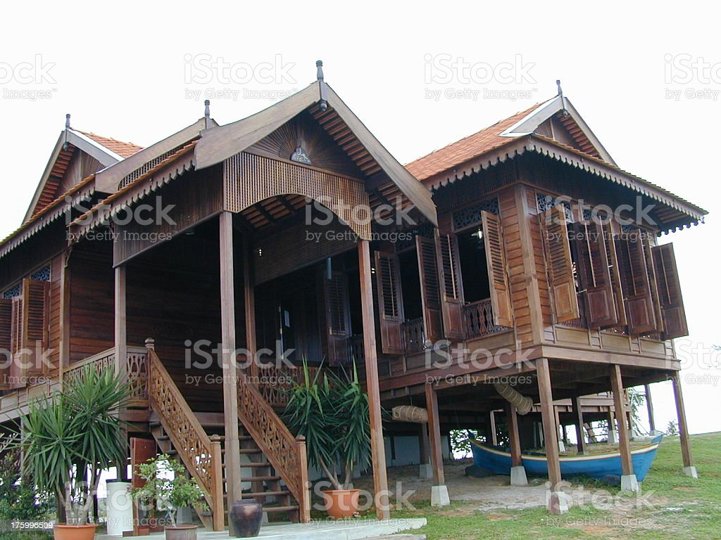 Malay Architecture stock photo