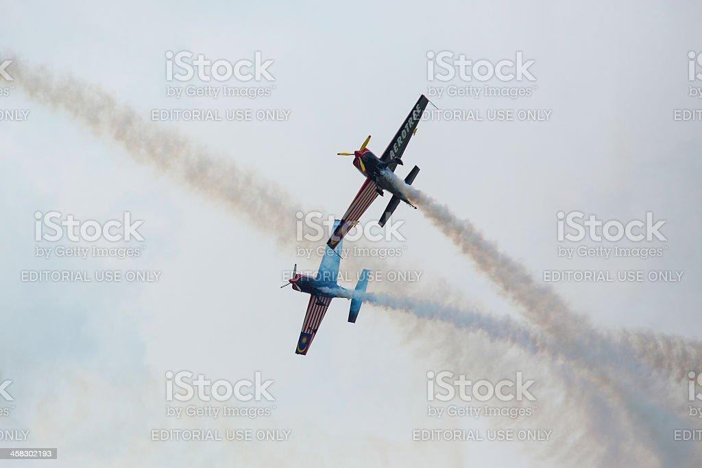 Malaysia Aerobatic Team X330L Krisakti royalty-free stock photo