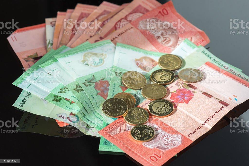 Malaysia currency stock photo