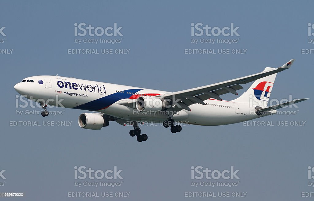 Malaysian Airlines Airbus A330 stock photo