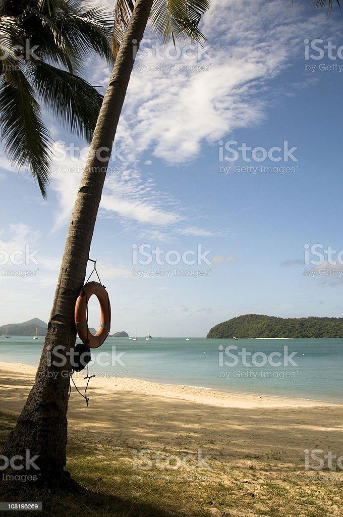 Malaysian Beach Holiday stock photo